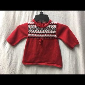 The Children's Place Long Sleeve Red Sweat…